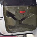 Porsche Cayman GT4 - wnętrze, drzwi