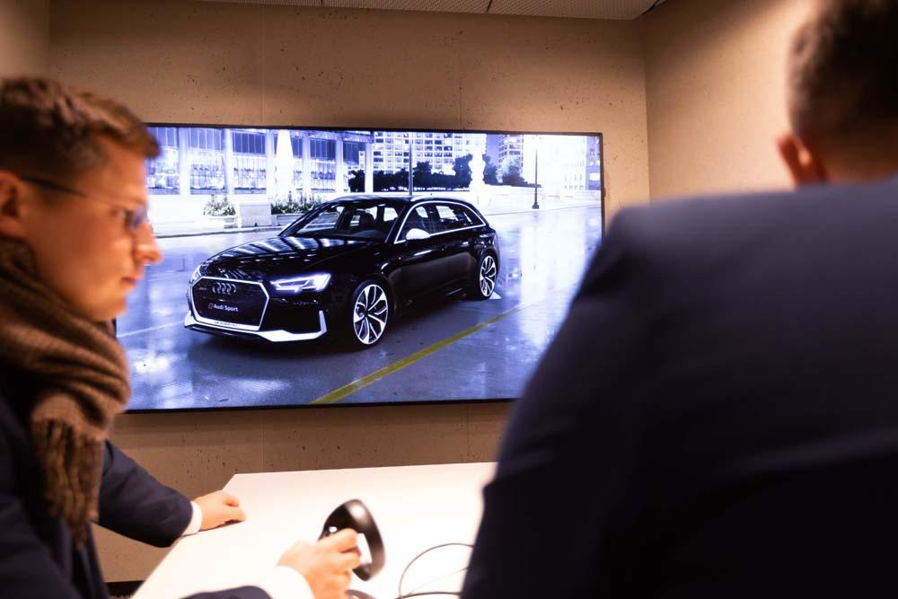 Audi City Warszawa - prezentacja modelu