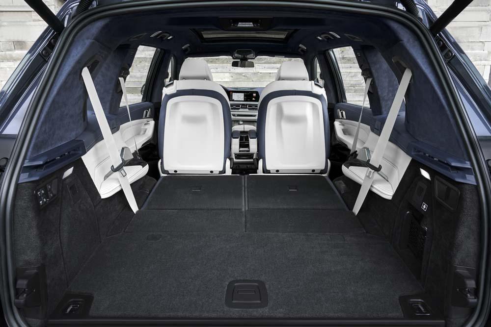 BMW X7 bagażnik