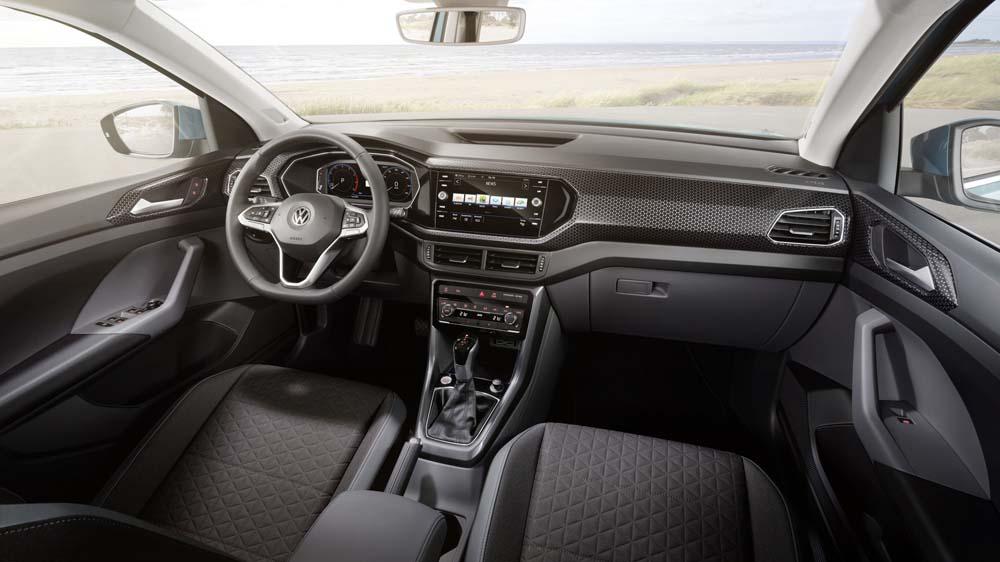 Volkswagen T-Cross - wnętrze