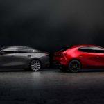 Mazda 3 hatchback i sedan