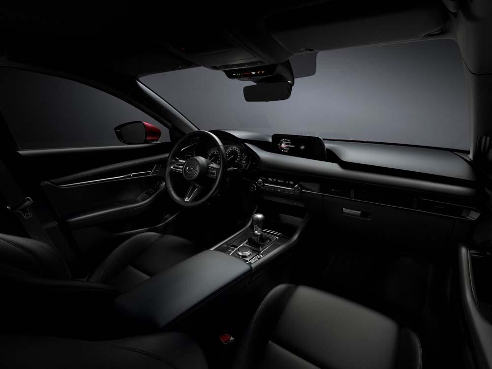 Mazda 3 - wnętrze