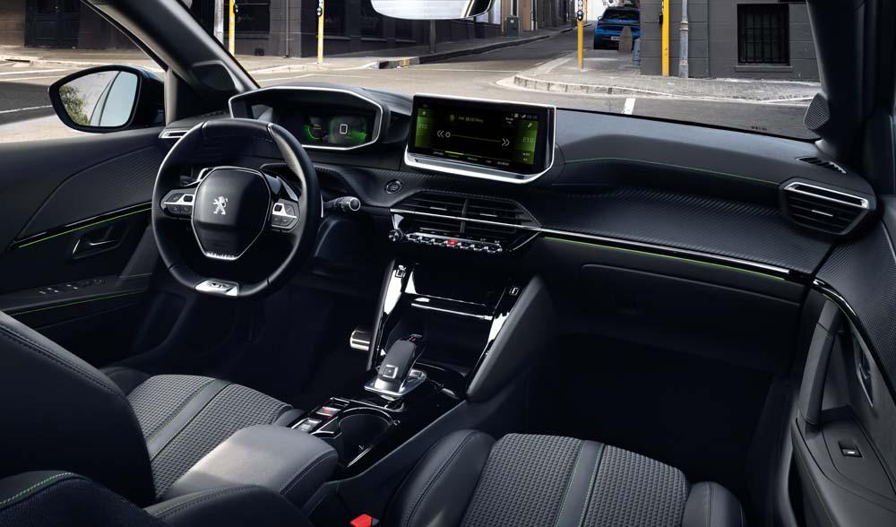 Peugeot 208 - wnętrze, PEUGEOT i-Cockpit® 3D