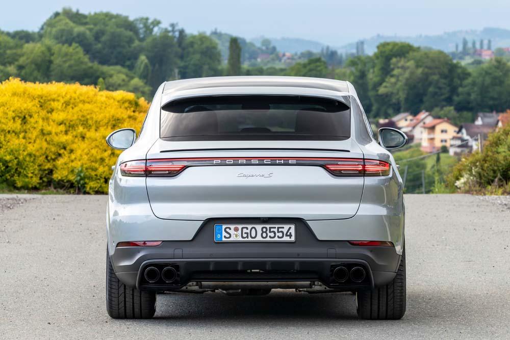 Porsche Cayenne S Coupe - tył